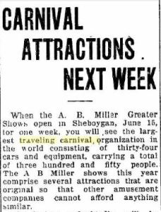 Sheboygan Press June 12 1914